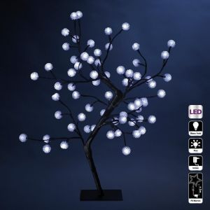 Arbre lumineux 64 LED blanches (60 cm)