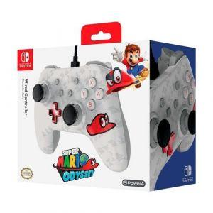 PowerA Wired Controller Mario Odyssey