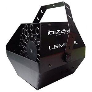 Ibiza Sound LBM10-BL Machine à bulles Noir