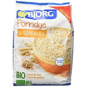 Bjorg Porridge 3 céréales bio - Le sachet de 375g