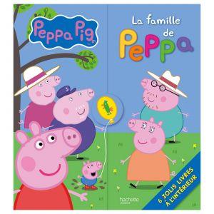 Hachette La Famille de Peppa Livre triptyque