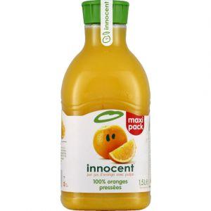 Innocent Jus d'orange avec pulpe, 100% jus - La bouteille de 1,5L