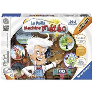 Ravensburger Tiptoi : La folle machine météo interactive