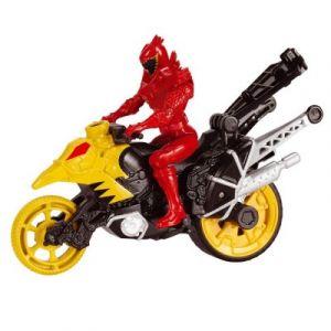 Bandai Moto Cascade Dino Stunt Bike et T-Rex Super figurine 12 cm