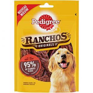 Pedigree Lot de 7 Récompenses riche en bŒuf Ranchos - Pour chien - 70 g