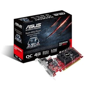 Asus R7240-OC-4GD3-L - Carte graphique Radeon R7 240 OC 4 Go DDR3 PCI-E 3.0 faible encombrement