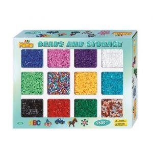 Hama Boîte à casier de perles moyennes