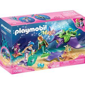 Playmobil 70099 - Chercheurs De Perles Et Raies