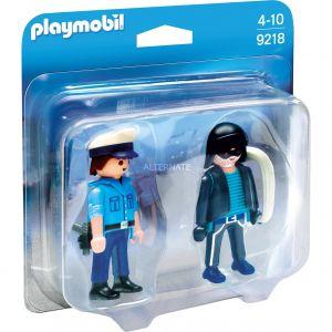 Playmobil 9218 City Action - Duopack policier et voleur