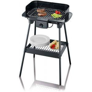 Severin PG8544 - Barbecue grill sur pieds 2500 Watts avec par-vent