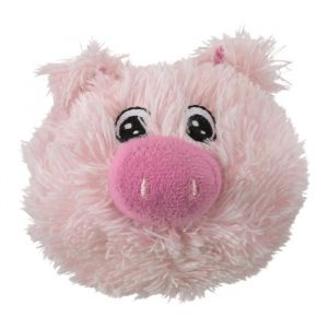 Trixie Peluche Balle cochon ø 10 cm - Rose - Pour chien