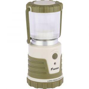 VidaXL FAVOUR Lanterne de camping ADVENTURER 250 lm Vert et beige L0541