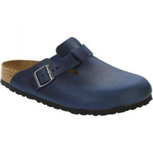 Birkenstock Boston Sabots Homme, Bleu