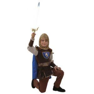 César D295 - Déguisement de chevalier d'or avec accessoires