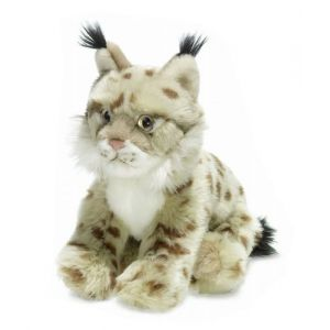 WWF Peluche Lynx gris 23 cm