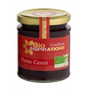 Thorem Confiture de Fraise Cassis Bio, pot 220 gr