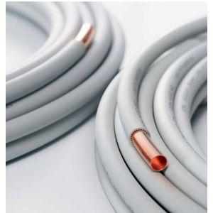 Bleu Rouge Sorofi Tube cuivre WICU Non Sanco - Diamètre 14 mm - la couronne de 25 m