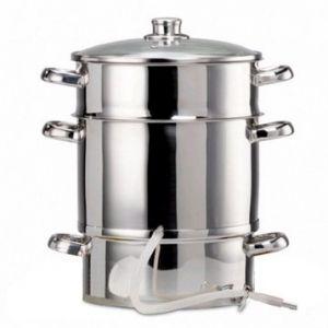Baumalu Extracteur de jus à vapeur diam 26 cm inox