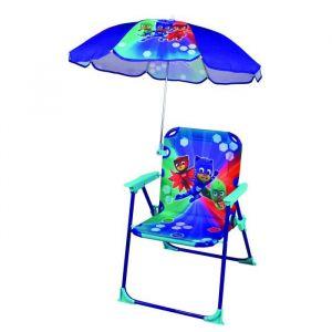 Fun House Pyjamasques chaise pliable avec parasol pour enfant