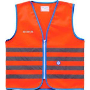 Wowow Gilet de sécurité enfant orange L