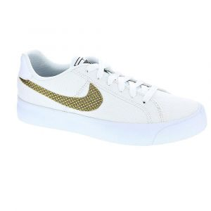 Nike COURT ROYALE AC SE - BLANC - femme - CHAUSSURES BASSES