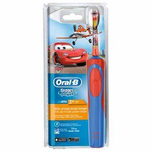 Oral-B Stages Power - Brosse à Dents Électrique pour enfant - Cars & Planes de Disney 3 ans +