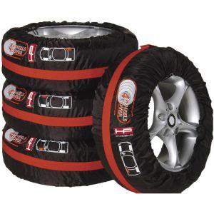 EUFAB Housses pour pneus HP Autozubehör 82277 1 set