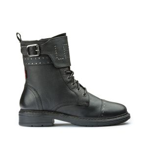 Levi's Sly Studs, Bottes & Bottines Motardes Femmes, Noir (Boots 59), 37 EU
