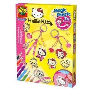 Ses Creative Porte-clés Plastic Magic Hello Kitty