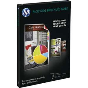 HP Papier Photo Brillant PageWide Bro GL - A3 - 100 Feuilles - 160 g - Blanc