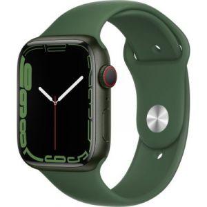 Apple Watch Series 7 GPS + Cellular Aluminium Vert Bracelet Sport 45 mm
