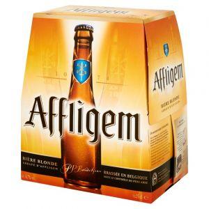 Affligem Bière Blonde, 6,7% vol. - Les 6 bouteilles de 25cl