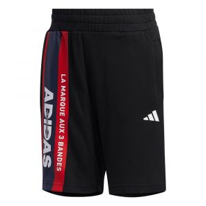 Adidas Pantalons Little Boys Urban Knit - Black - Taille 98 cm
