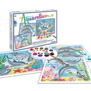 Sentosphère Aquarellum : Dauphins