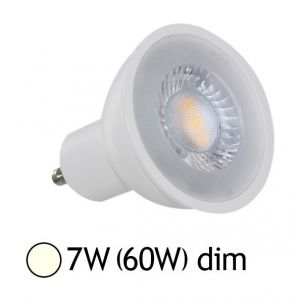 Vision-El Spot Led 7W (60W) GU10 Dimmable Angle 38° Blanc jour 4000°K