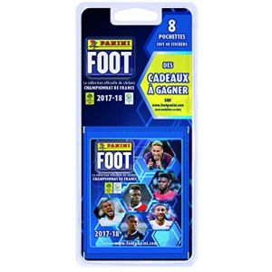 Panini Cartes à collectionner Foot 2017 - Blister 8 pochettes