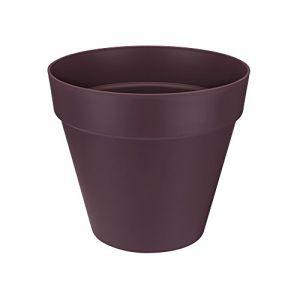 Loft URBAN Pot de fleur rond - 40 cm - Mûre voil