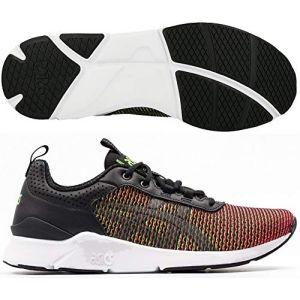 Asics Gel Lyte Runner Running chaussures noir rouge vert noir rouge vert 40,5 EU