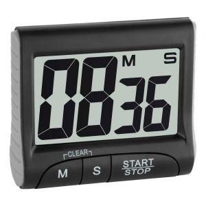 TFA Dostmann 38.2021.01 Minuteur noir numérique