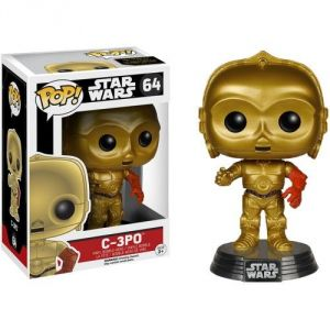 Funko Figurine Pop! Star Wars : Episode 7 C-3PO bras rouge