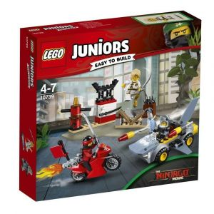 Lego 10739 - Juniors : Ninjago : L'attaque du requin