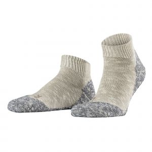 Falke Lodge Homepad Chaussettes Homme Gris (Light Grey 3400) 41/42 (Taille fabricant:41-42)