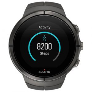 Suunto Spartan Ultra All Black Titanium HR - Montre GPS cardio-fréquencemètre