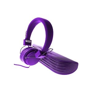 Sakar Enceinte Bluetooth + Casque Audio - Violet