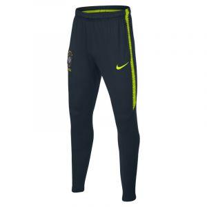 Nike Pantalon de football Brasil CBF Dri-FIT Squad Enfant plus âgé - Bleu - Taille L