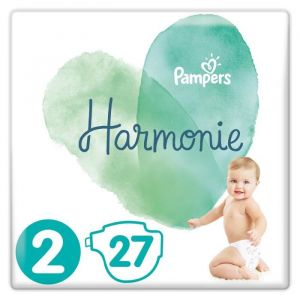 Pampers Harmonie Taille2 (4-8kg) - 27couches