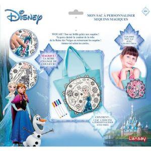 Lansay Mon sac à personnaliser Sequins magiques La Reine des neiges