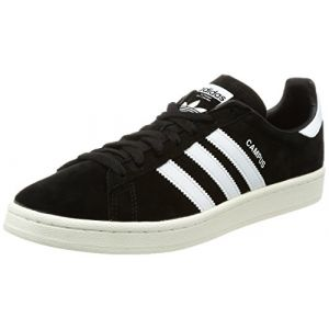 Adidas Campus, Baskets Homme, Noir (Core Black/Footwear White/Chalk White 0), 44 EU