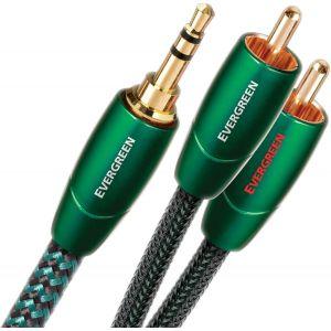 Audioquest Evergreen câble mini jack 3,5mm - RCA 1,5m
