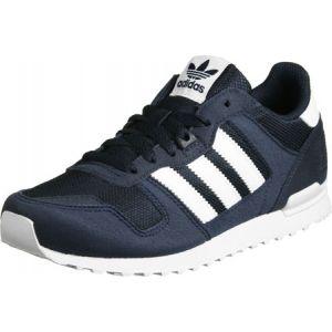 Adidas ZX 700, Chaussures de Running Mixte Enfant, Bleu (Night Navy/FTWR White/Collegiate Navy), 37 1/3 EU